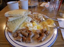 desayuno yellowstone