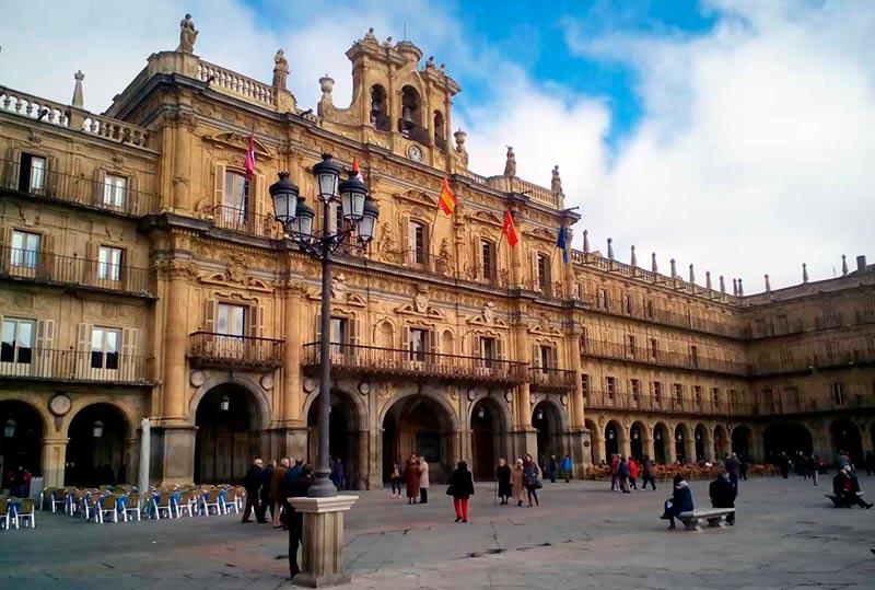 El Ayuntamiento de Salamanca.