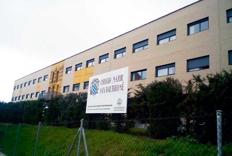 El nuevo colegio mayor San Bartolomé.