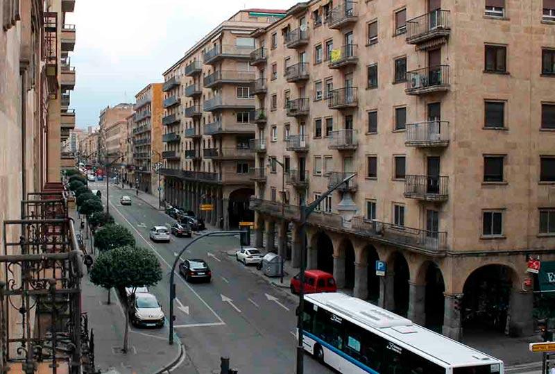 La Gran Vía de Salamanca.