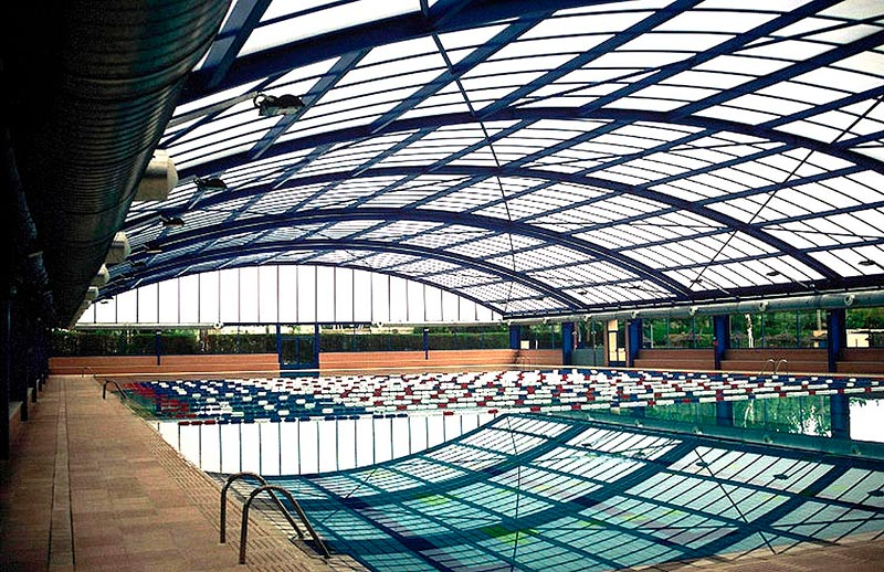 La piscina cubierta de Garrido.