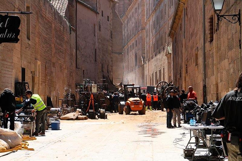 La calle Compañía fue el set de rodaje de la serie Still Star Crossed.