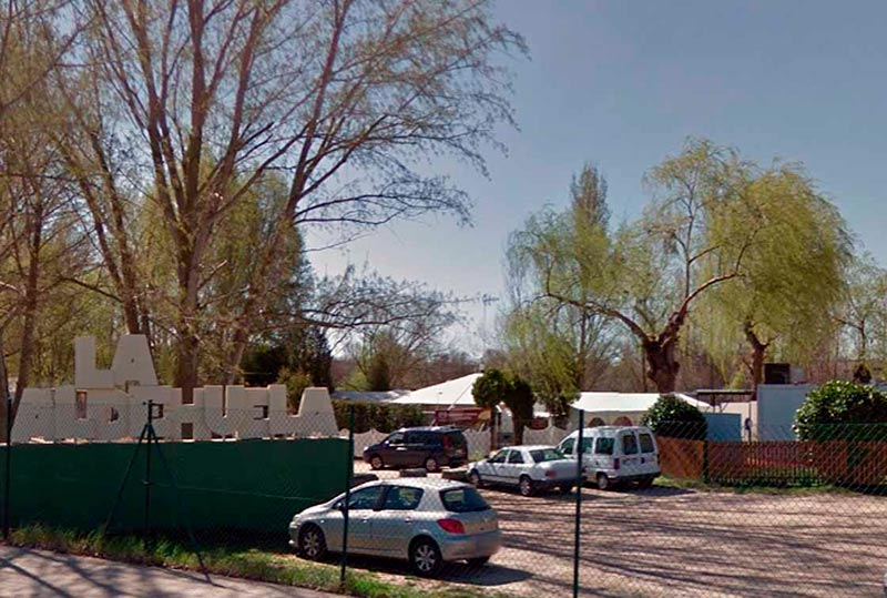 Una de las zonas de chiringuitos de La Aldehuela.