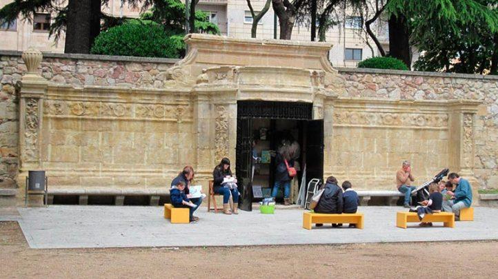 Biblioteca del Campo de San Francisco.