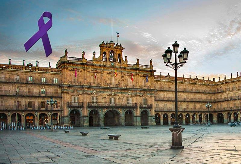 Salamanca se suma el lunes 25 de noviembre a la visualización y sensibilización de la violencia machista con teatro, música y lectura de manifiesto.