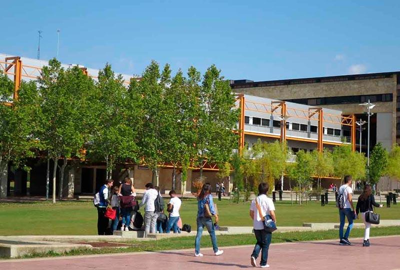 estudiantes campus usal biblioteca francisco de vitoria campus unamuno