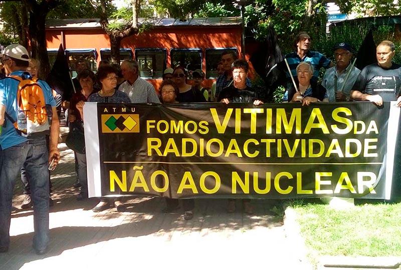 La delegación portuguesa en Boada.