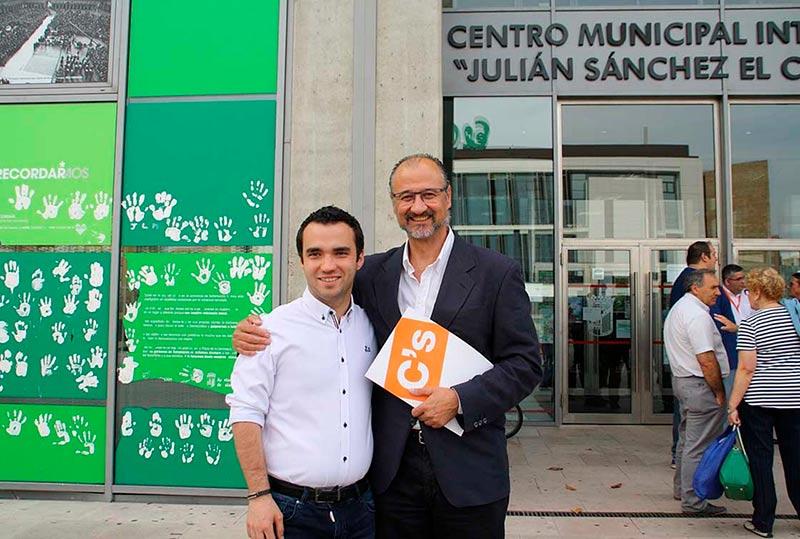Pablo Yáñez (izda.) y Luis Fuentes.