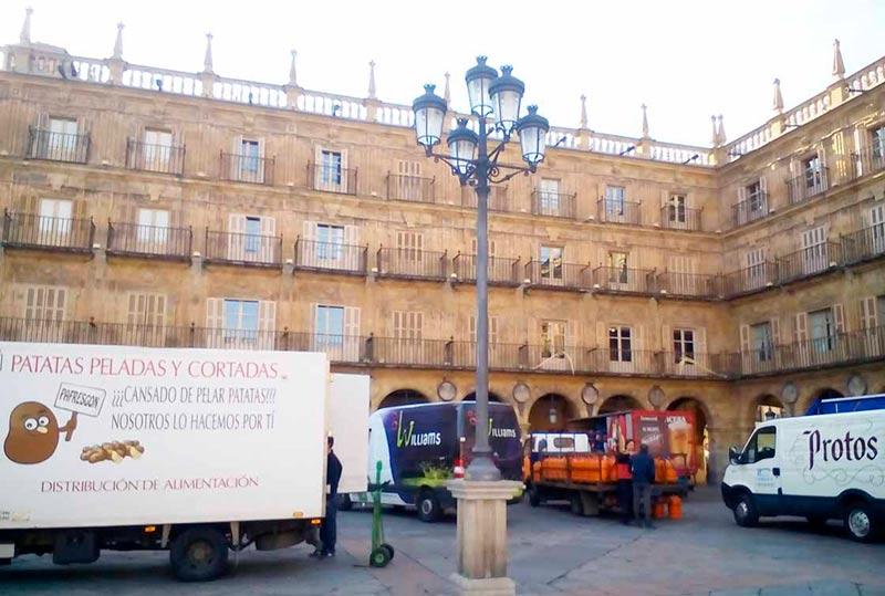repartidores camiones reparto