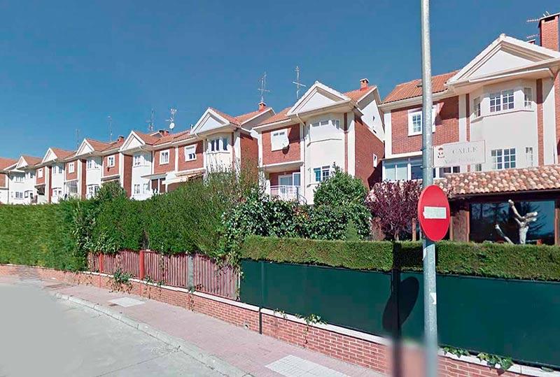 Una de las urbanizaciones de Cabrerizos.