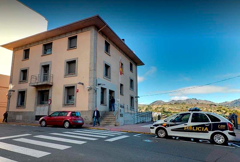 La comisaría de la Policía Nacional en Béjar.