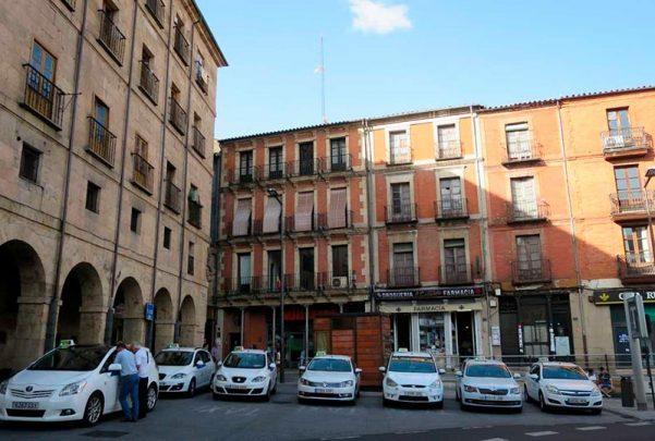 taxi plaza mayor