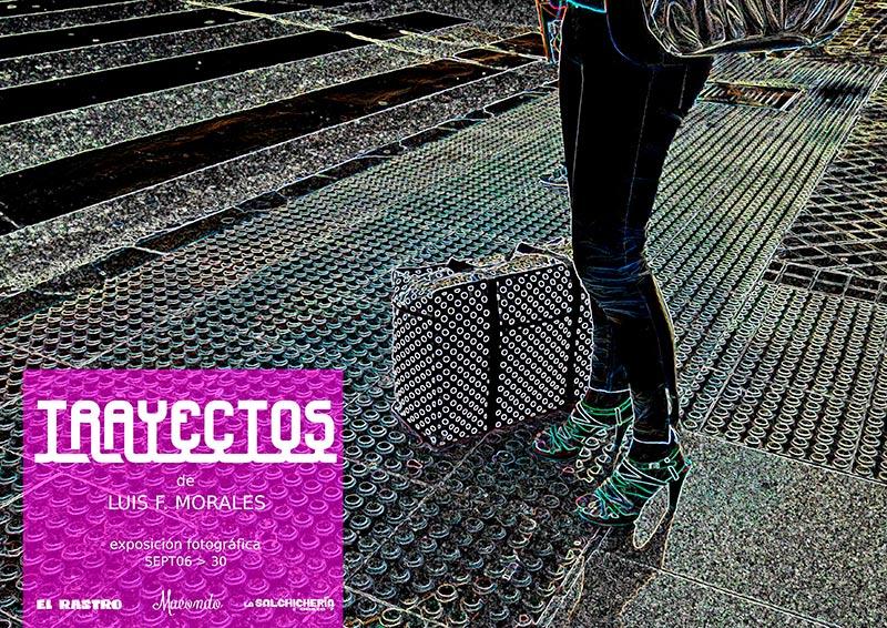 La muestra fotográfica se puede ver hasta el día 30 en La Salchichería, El Rastro y Macondo.