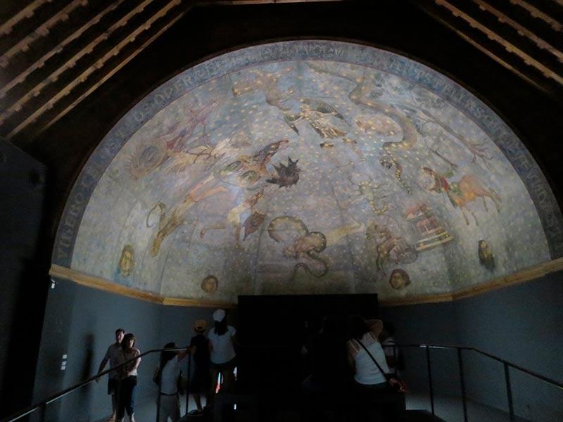 El Cielo de Salamanca forma parte del recorrido guiado.