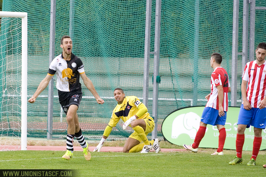 El Unionistas ganó por tres goles a cero al Atlético de Bembibre.