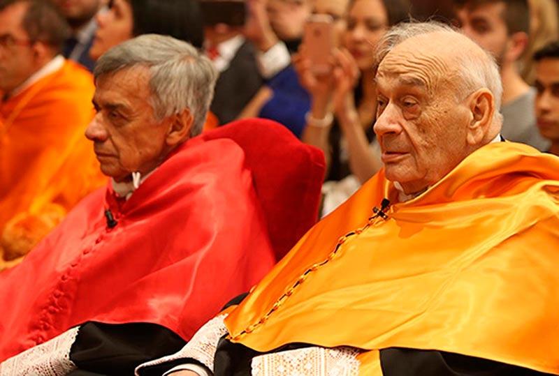 Blas Calzada (decha) y Jairo Parra. (Foto: Usal)