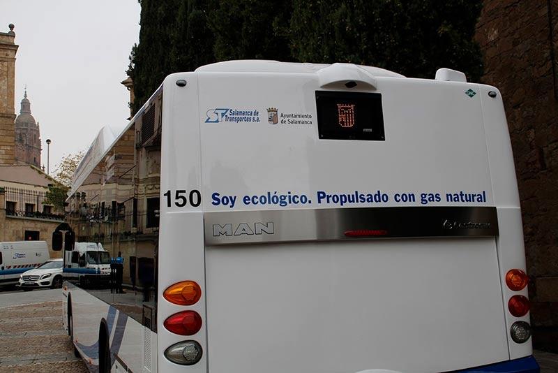 Autobús ecológico.
