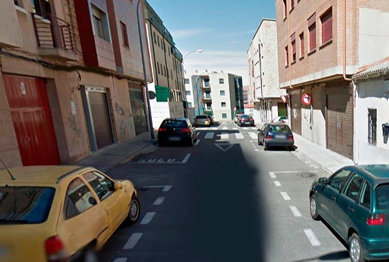 La calle Badajoz.