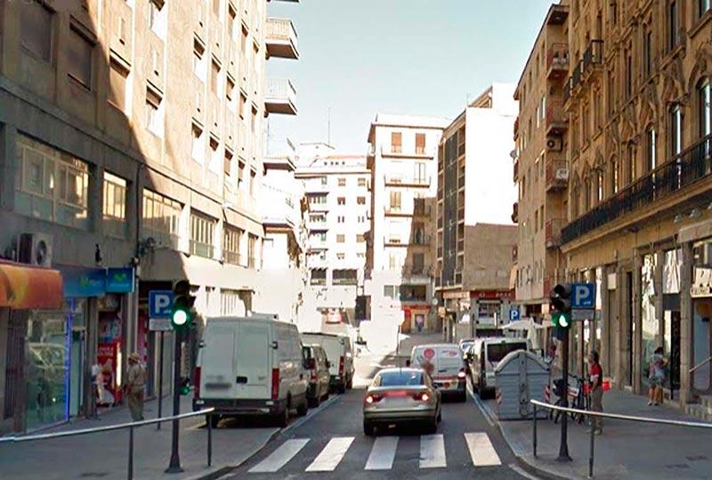La calle Correhuela.