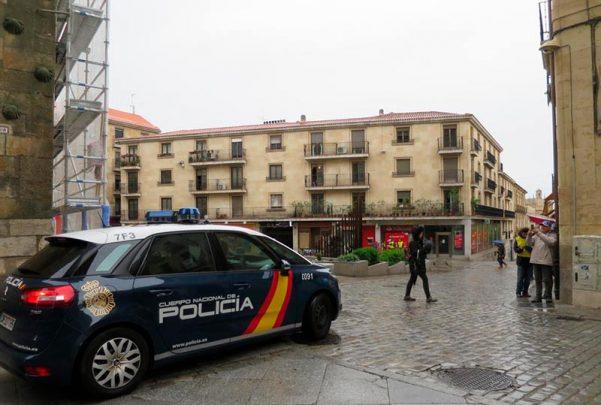 Detenido un ladr n de tiendas oficinas y residencias la cr nica de salamanca - Oficina policia nacional ...