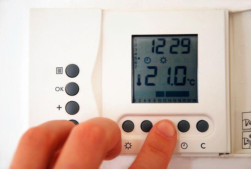 calefaccion gas termostato pobreza energetica