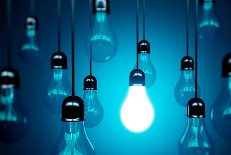 luz energia electricidad bombilla