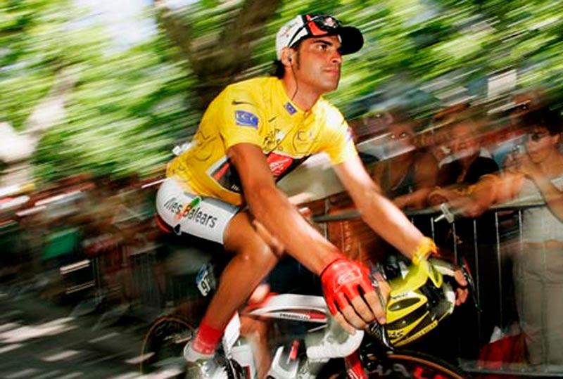 Óscar Pereiro, en el año que ganó el Tour.