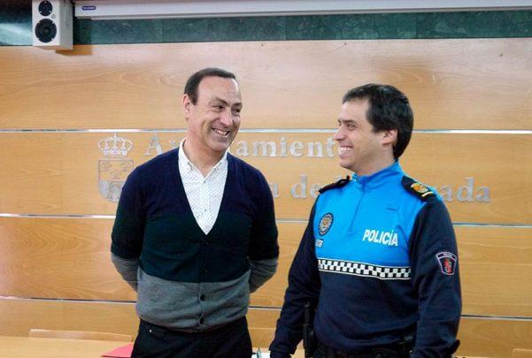 carbajosa Presentaciones actuaciones Policía