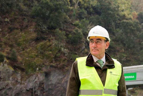 iberdrola Ignacio Galán durante una reciente visita a instalaciones de...