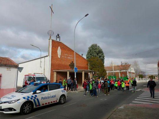 marcha solidaria puente ladrillo