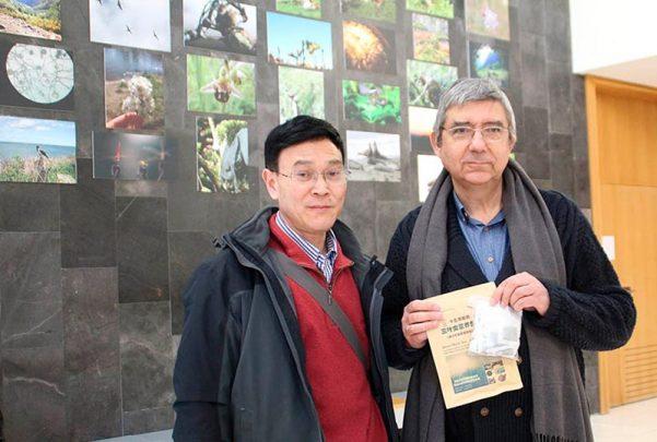 insectos Wen Lizhang y lose luis viejo dieta alimentacion con el te