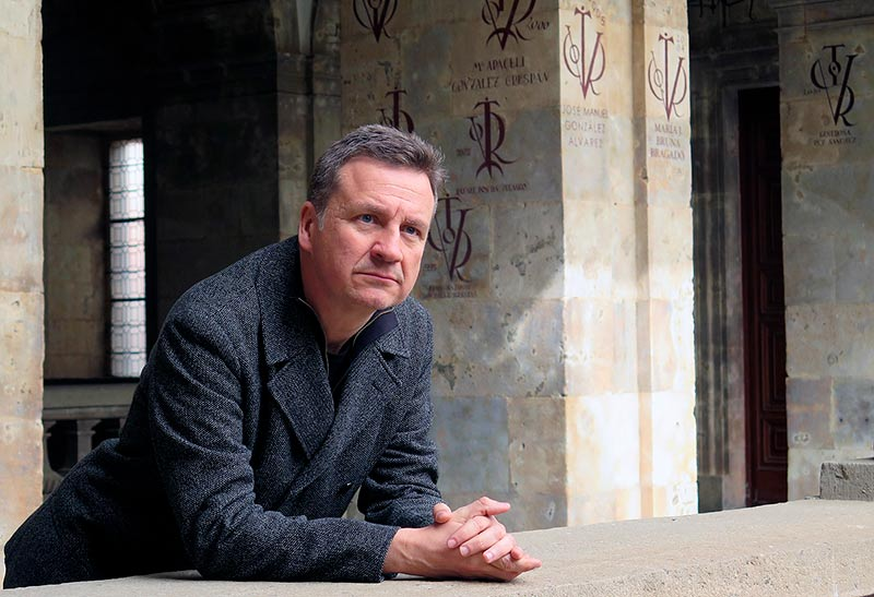 Juan Figueroa, director de Sobrenatural, película que se estrena el 1 de octubre en Madrid.