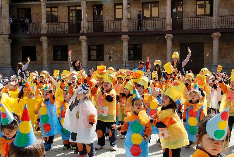 El Carnaval en las Siervas de San José.
