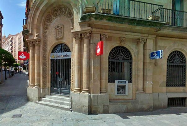 banco santander calle toro