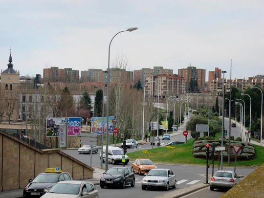 barrio san jose puente felipe VI trafico