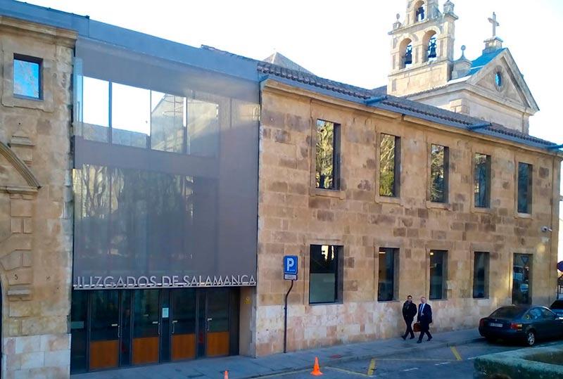Los juzgados de Salamanca.