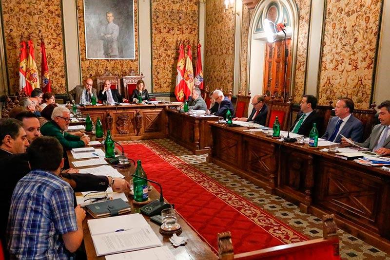 Pleno de marzo de la Diputación.
