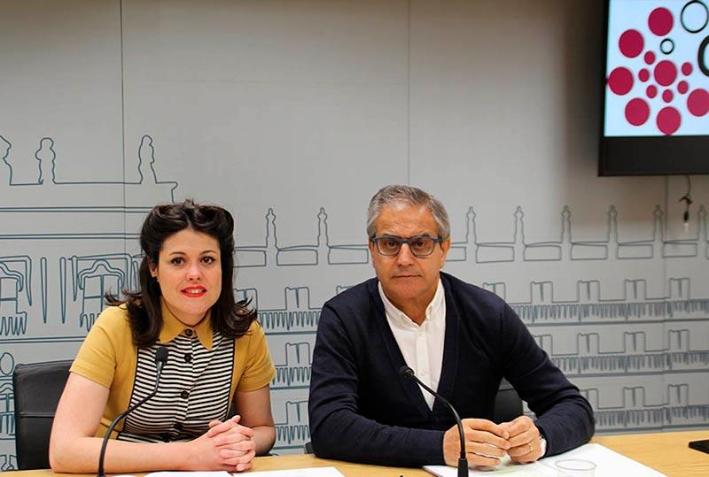 Virginia Carrera y Gabriel Risco.