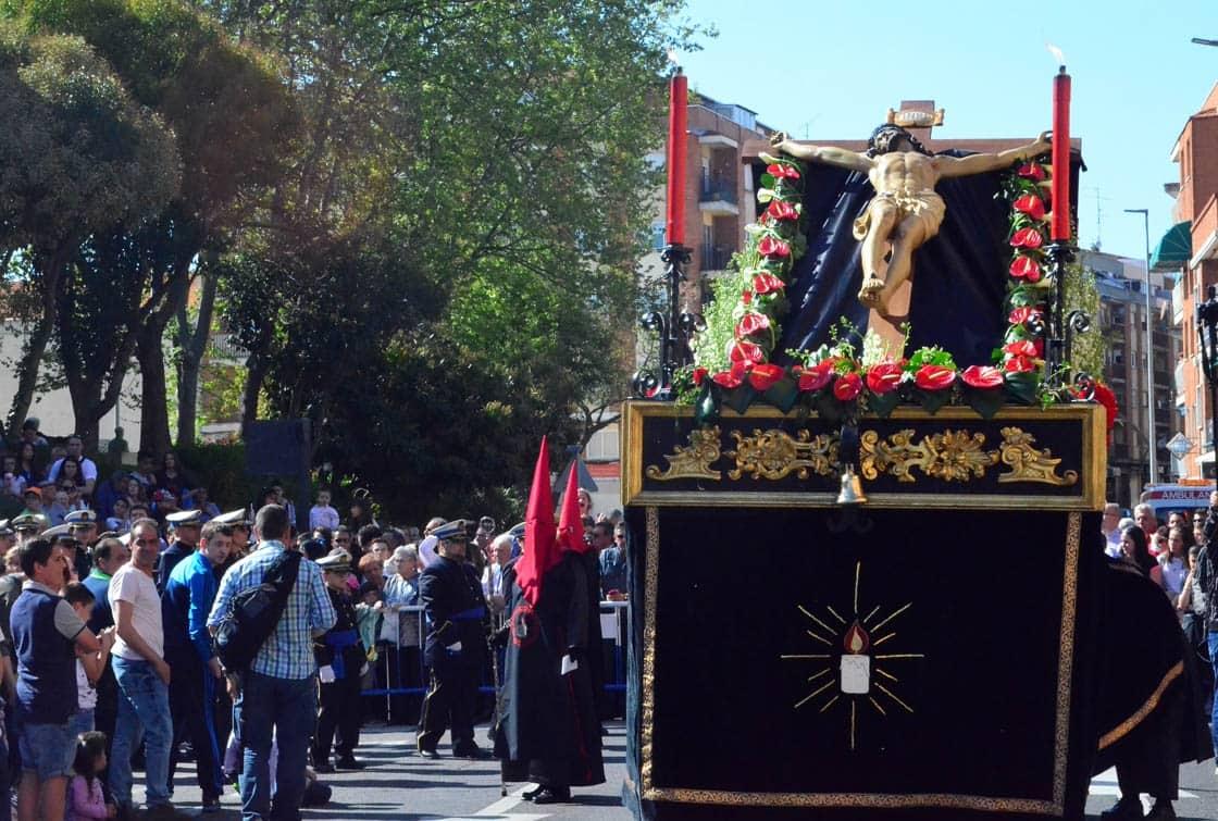 El Cristo de la Vela, en la carretera de Ledesma.