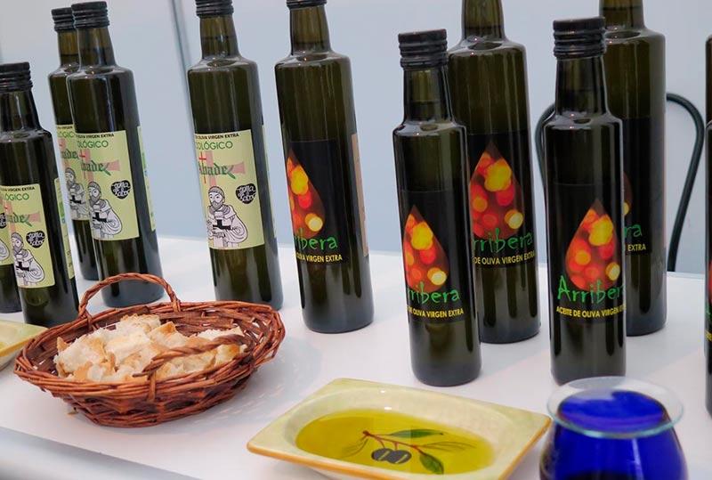 Aceite de Ahigal en la feria del aceite y el olivar de Vilvestre.