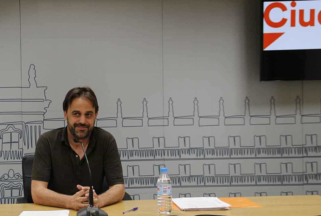 Fernando Castaño, concejal de C's.