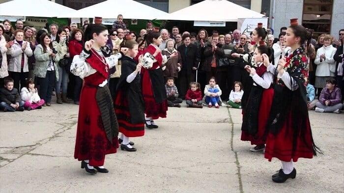 Historia del baile charro en Salamanca