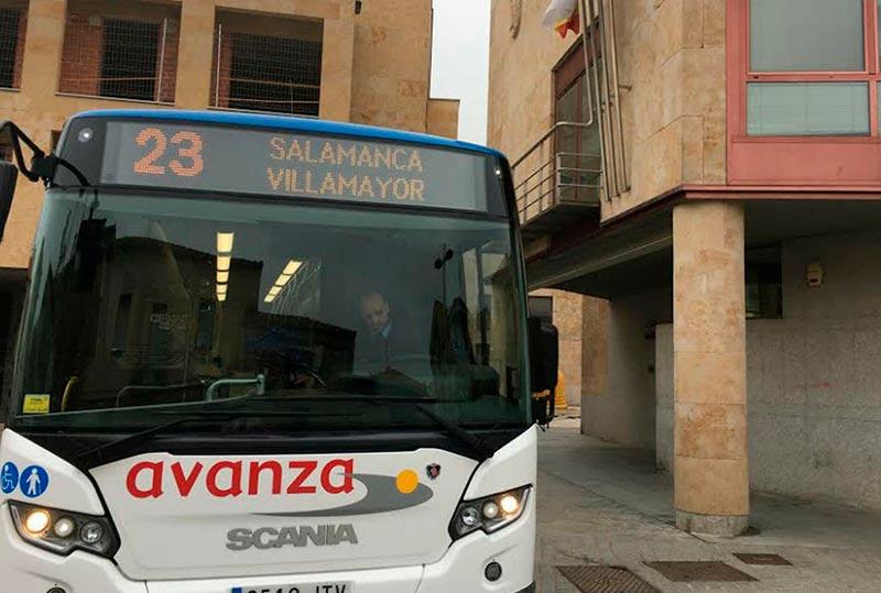 autobus villamayor metropolitano