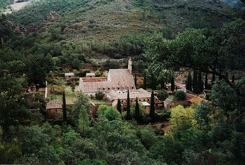 El monasterio de Las Batuecas.