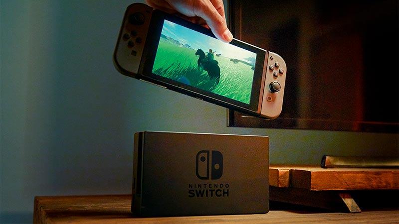 La nueva nintendo switch.