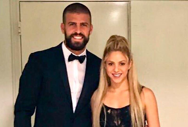 Piqué y Shakira, el día de la boda. (Foto: @shakira)