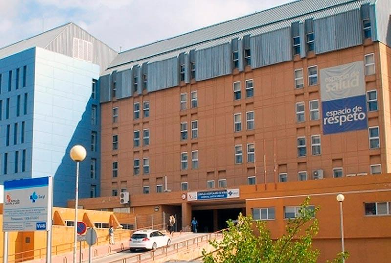 El hospital de Soria.