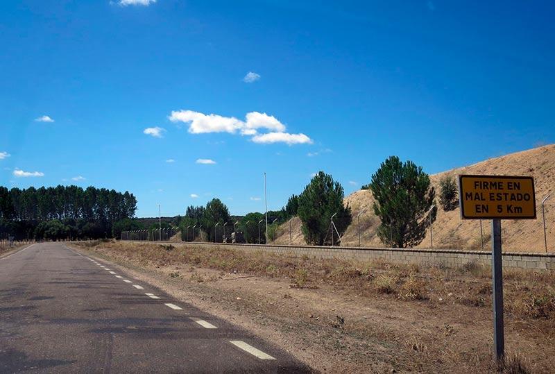 carretera diputacion galisancho