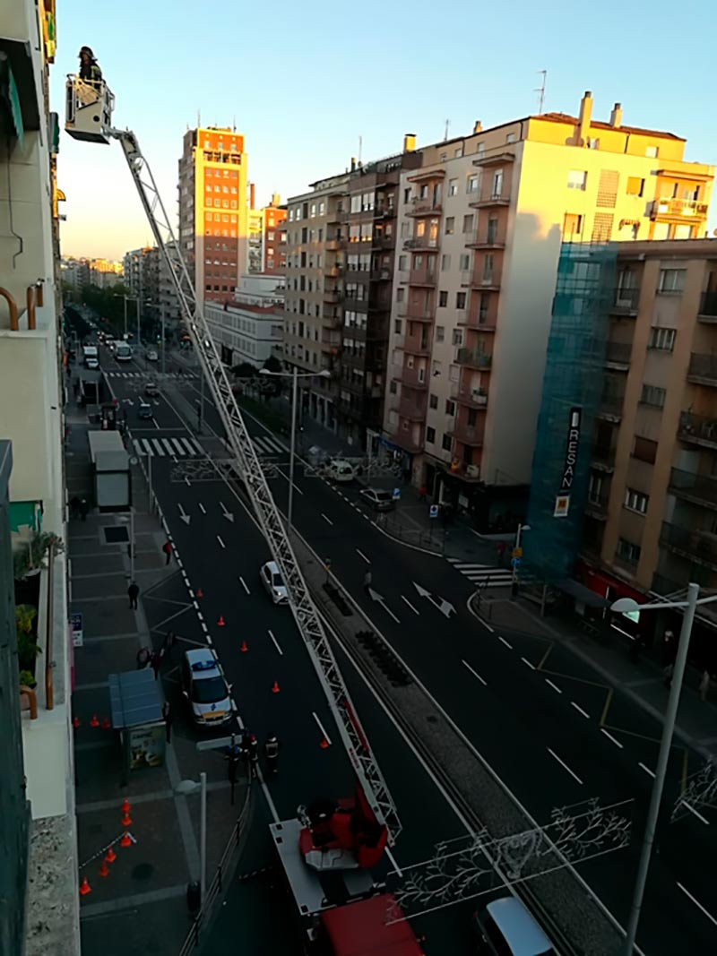 bomberos avenida portugal
