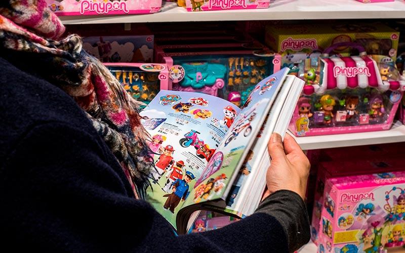 Los salmantinos destinamos 104 € de media a la compra de juguetes en Navidad